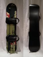 Dětský snowboard - komplet