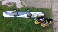 Prodám snowboard+vázání+boty